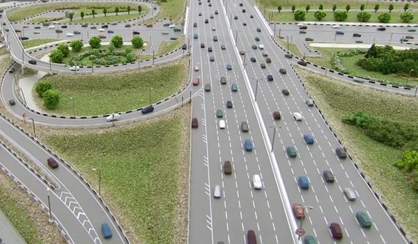 Реконструкция развязки на Рязанском проспекте