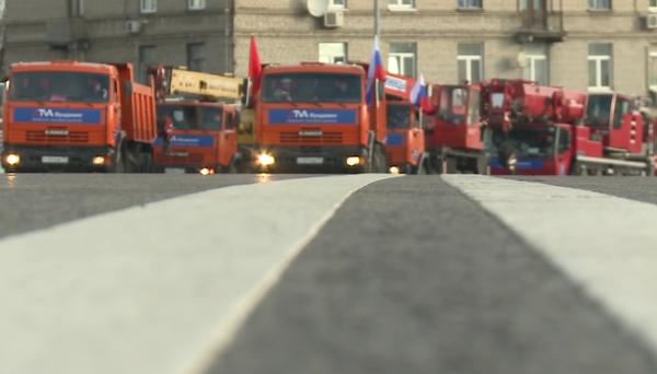 Звенигородский путепровод над МКЖД стал четырехполосным