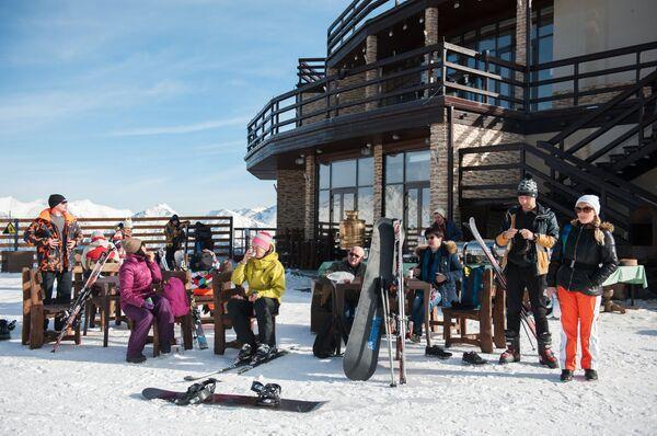 Открытие горнолыжного сезона в Сочи