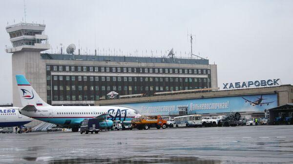 В аэропорту Хабаровска