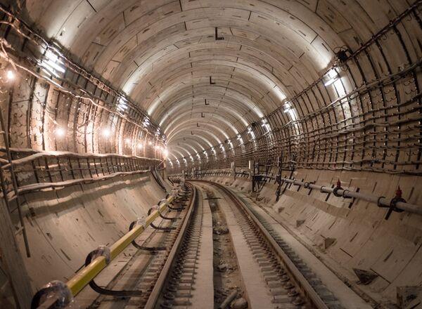 Тоннель Московского метрополитена