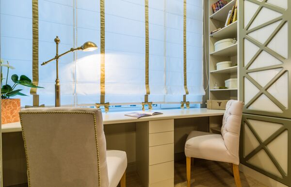 Кабинет с наперсток: как обустроить рабочее место в небольшой квартире