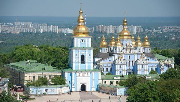 Михайловский собор в Киеве. Архивное фото