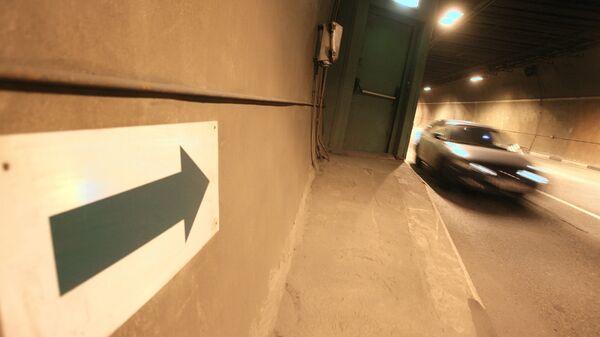 В Лефортовском тоннеле