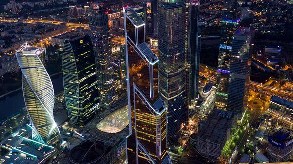 Московский международный деловой центр Москва-Сити.
