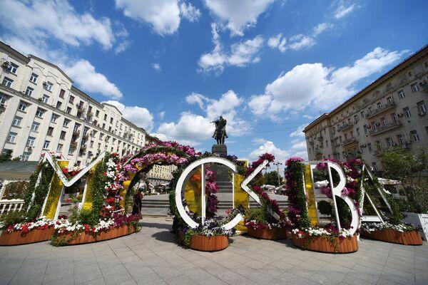 Продолжается реконструкция Тверской улицы