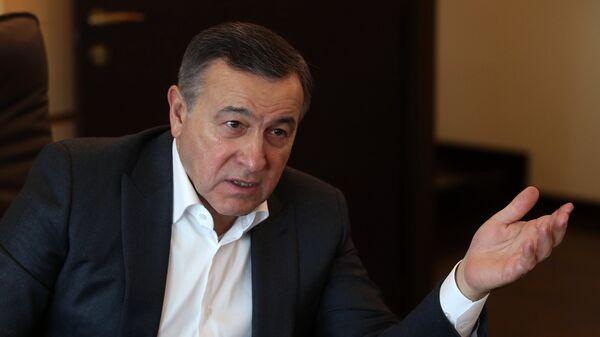 Президент Crocus Group Араз Агаларов