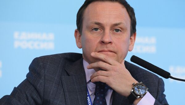 Первый заместитель председателя комитета ГД по жилищной политике и жилищно-коммунальному хозяйству Александр Сидякин