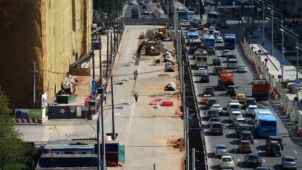 Реконструкция улицы в Москве