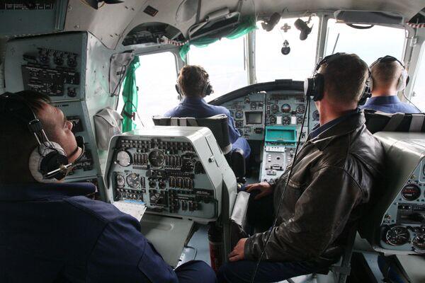 Экипаж многоцелевого транспортного вертолета Ми-26