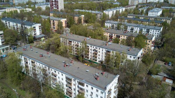 Пятиэтажные дома, включенные в программу реновации в Москве