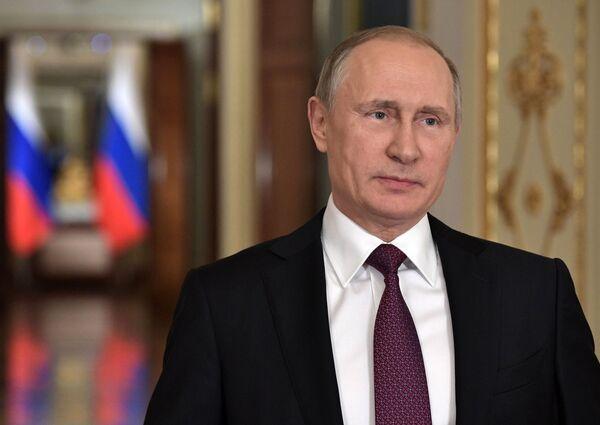 Обращение президента РФ В.Путина к выпускникам российских школ