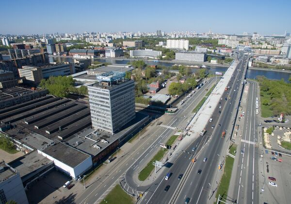 Территория бывшего автозавода им. И.А. Лихачева ( АМО ЗИЛ) в Москве