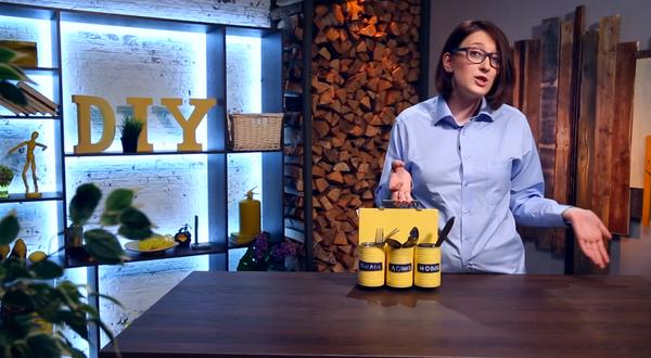 Мастер-класс: как сделать подставку для столовых приборов