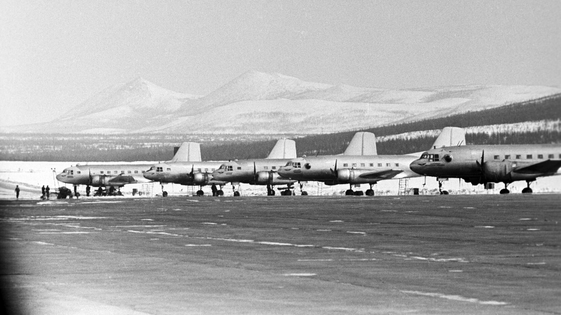 Аэропорт Магадана - РИА Новости, 1920, 28.01.2021