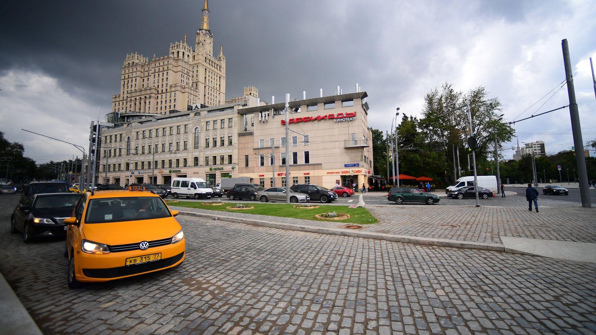 Реконструированные улицы в Москве - РИА Новости, 1920, 04.08.2020