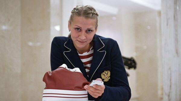 Гандболистка Ирина Близнова