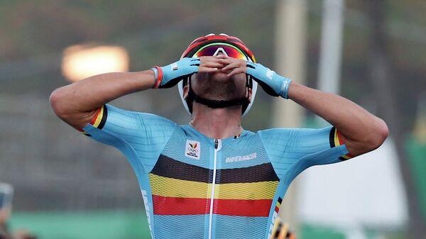 Бельгийский велогонщик Грег ван Авермат