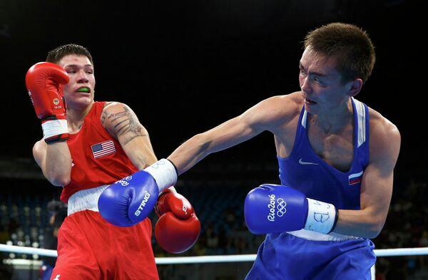 Нико Мигель Эрнандес и Василий Егоров (слева направо)