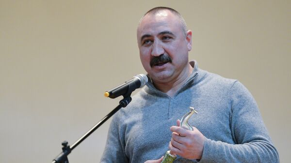 Главный тренер национальной команды по боксу Александр Лебзяк