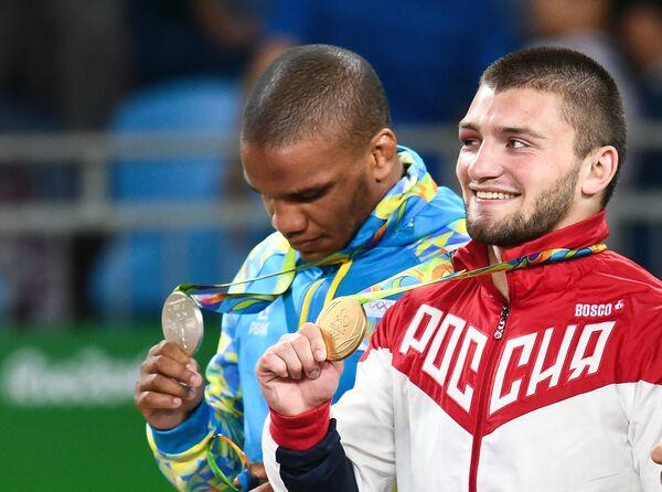Жан Беленюк и Давит Чакветадзе (слева направо)