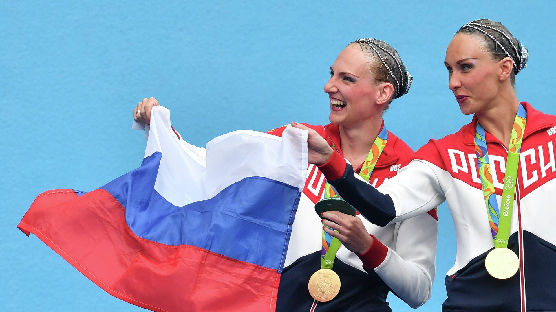 Светлана Ромашина и Наталья Ищенко (слева направо) - РИА Новости, 1920, 05.09.2018