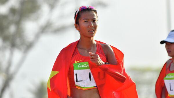 Китаянка Лю Хун