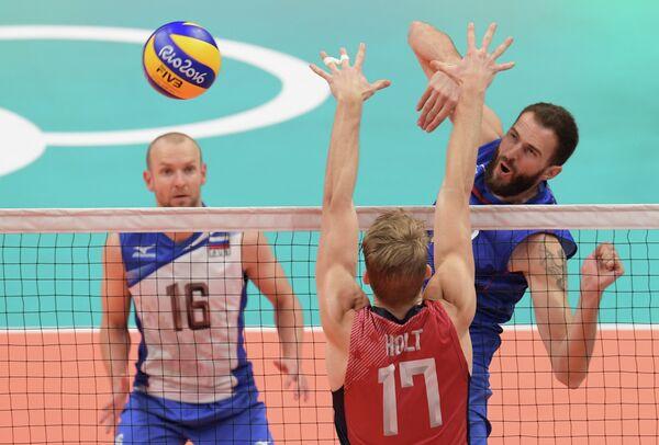 Ировой момент матча Россия - США