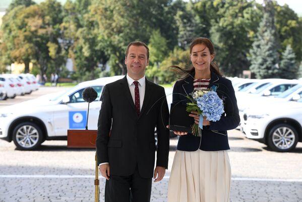 Дмитрий Медведев и Софья Великая