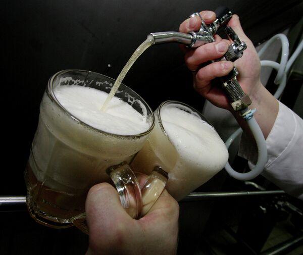 Разлив пива
