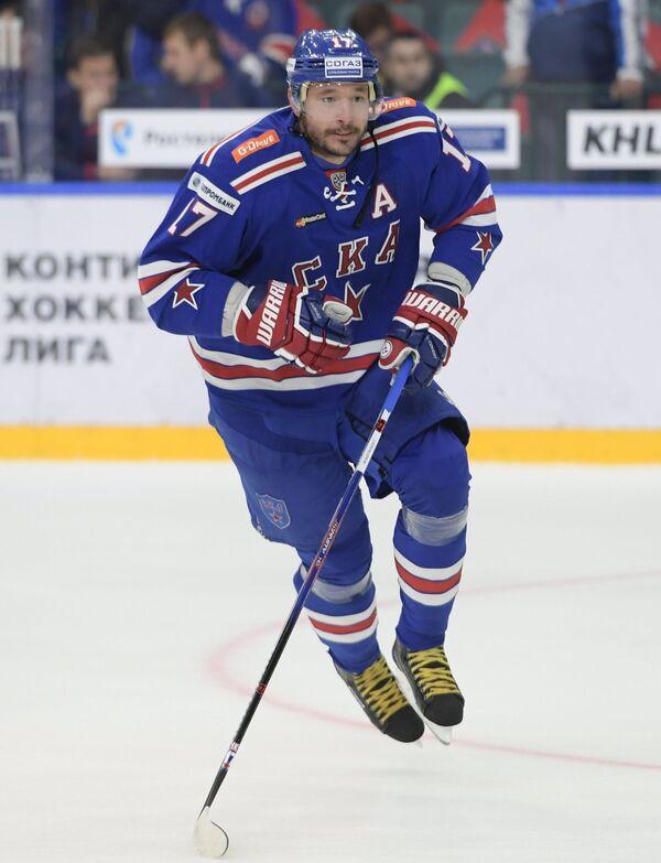 Нападающий СКА Илья Ковальчук