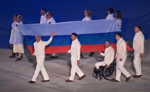 Владимир Спиваков, Алексей Немов, Владимир Киселев, Петр Буйлов (слева направо на первом плане)