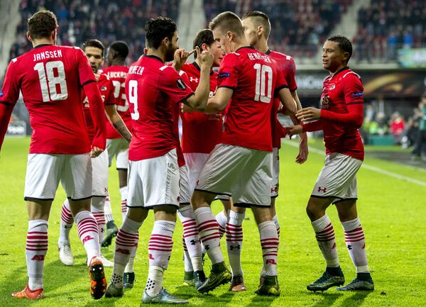 Футболисты голландского АЗ