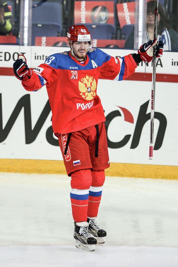 Форвард сборной России Валерий Ничушкин
