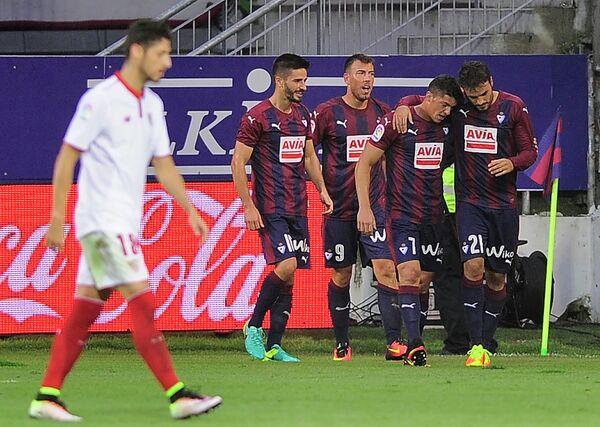 Футболисты испанского Эйбара