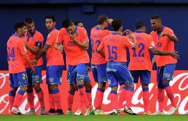 Футболисты испанского Лас-Пальмас