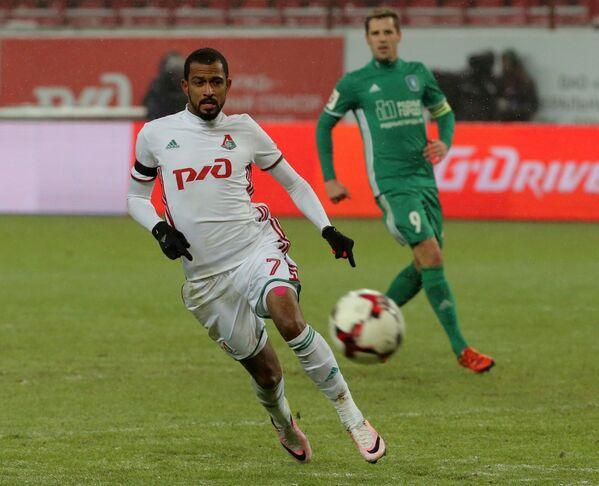 Нападающий ФК Локомотив Майкон