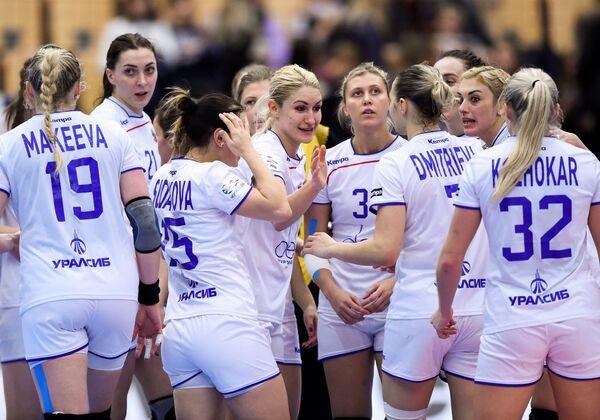 Российские гандболистки
