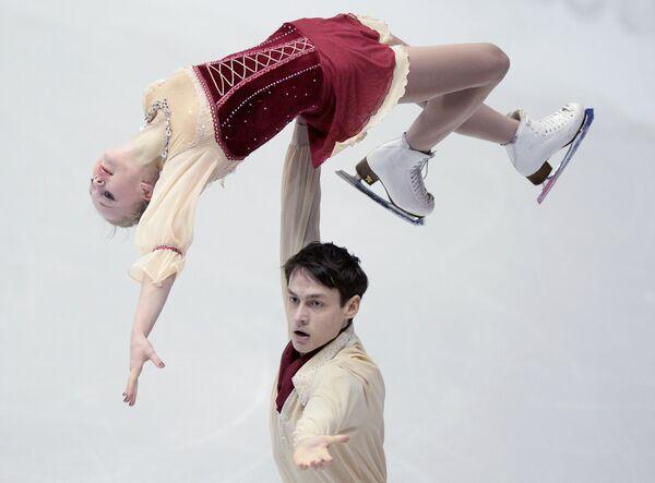 Анастасия Полуянова и Максим Селькин