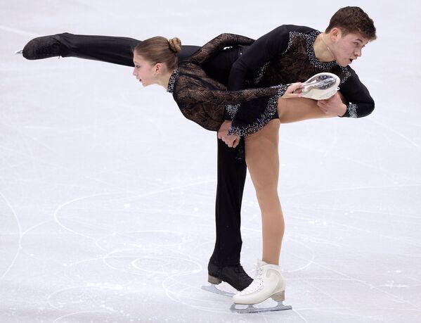 Елизавета Жук и Егор Бритков