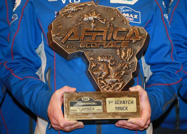 Приз за победу в ралли-марафонах Дакар и Африка Эко Рейс-2017