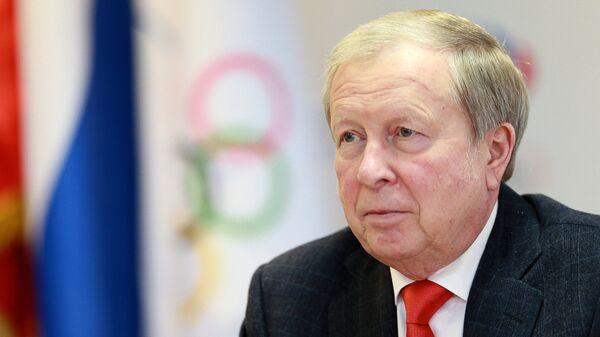Президент Федерации фехтования России Александр Михайлов