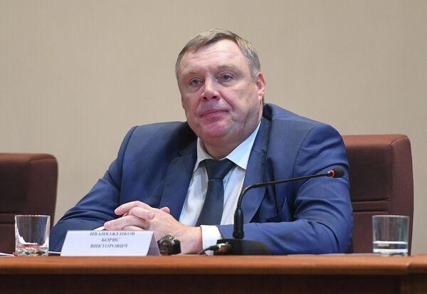 Возглавлявший Федерацию бокса России (ФБР) Борис Иванюженков