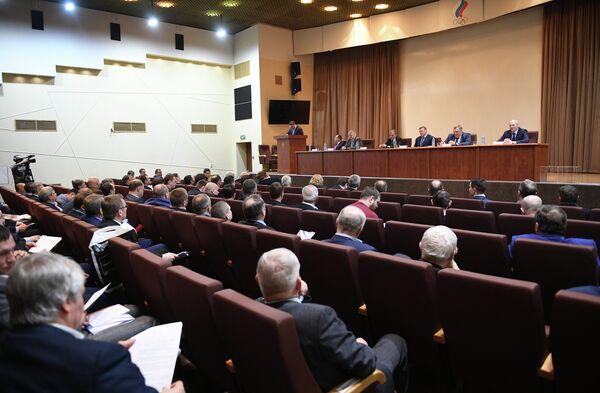 Отчетно-выборная конференция Федерации бокса России (ФБР)