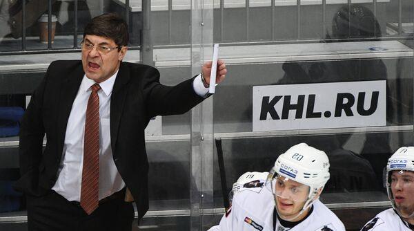 Главный тренер Амура Андрей Мартемьянов