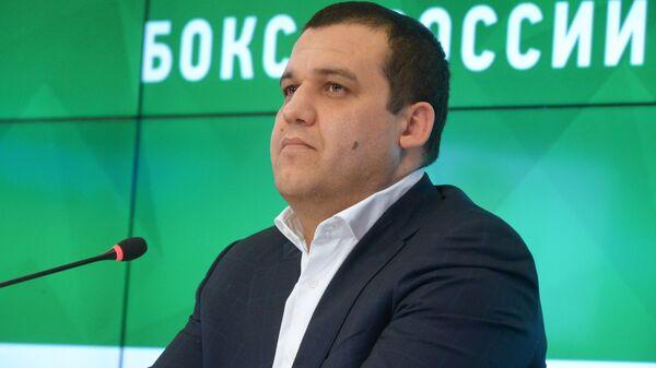 Генеральный секретарь Федерации бокса России Умар Кремлев