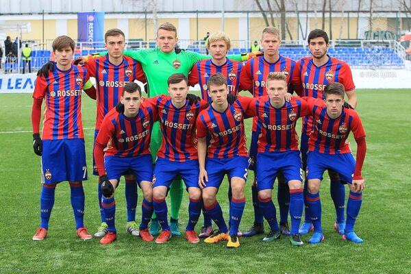 Футболисты ЦСКА (игроки не старше 19 лет)