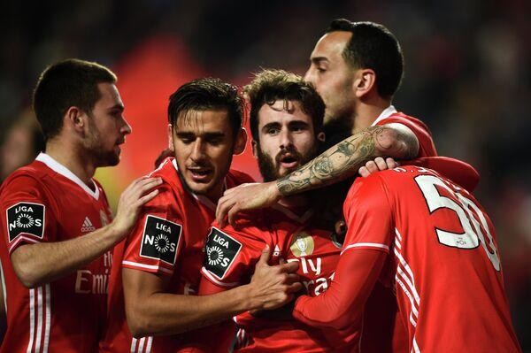 Футболисты лиссабонской Бенфики
