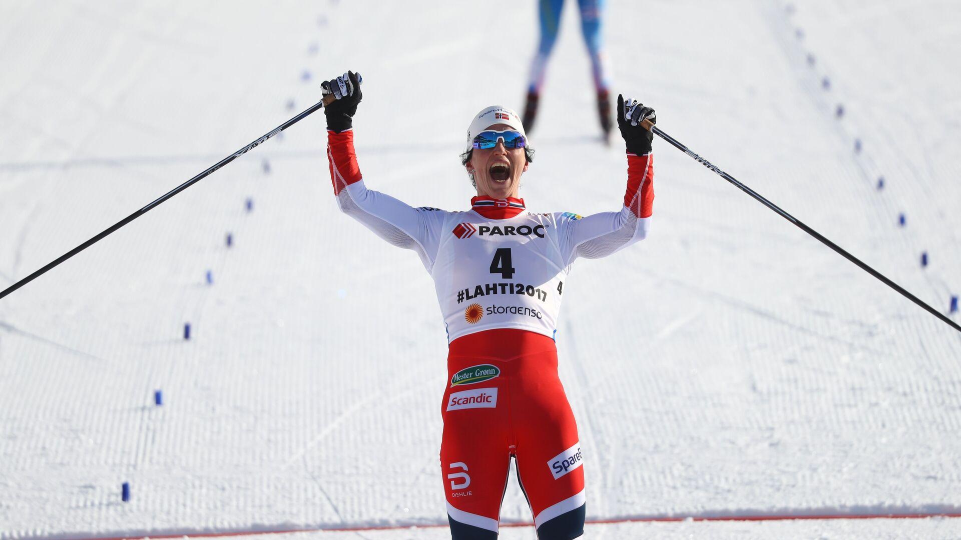 Норвежская лыжница Марит Бьёрген - РИА Новости, 1920, 12.10.2021