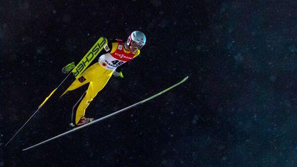 Член сборной России по прыжкам с трамплина Евгений Климов